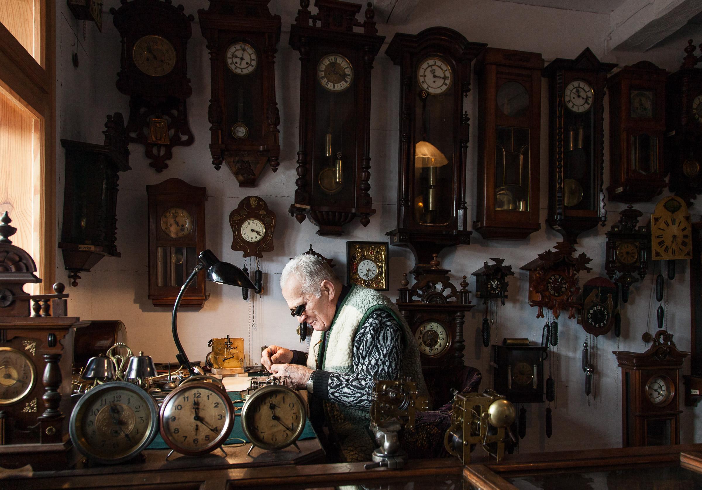 Galicyjski Rynek. Dom zegarmistrza. fot. Krzysztof Zajączkowski