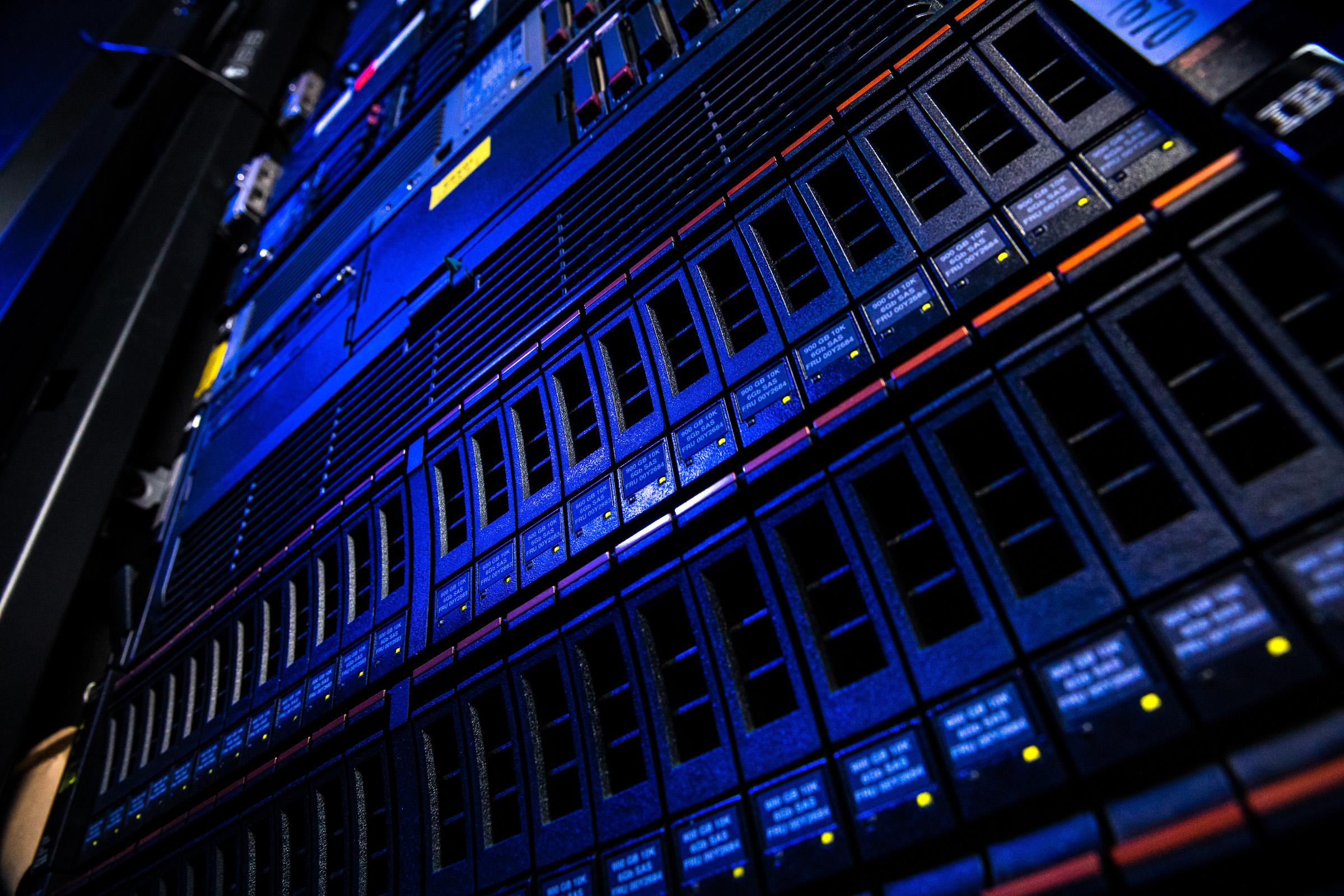Podkarpackie. Inteligentna specjalizacja: Informacja i telekomunikacja (ICT). Serwery i infrastruktura IT. fot. Tadeusz Poźniak