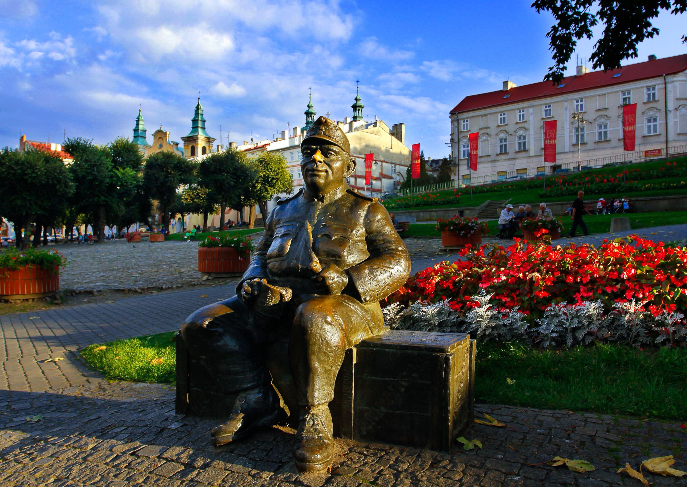 Przemysl- Pomnik wojaka Szwejka Fot. Waldek Sosnowski