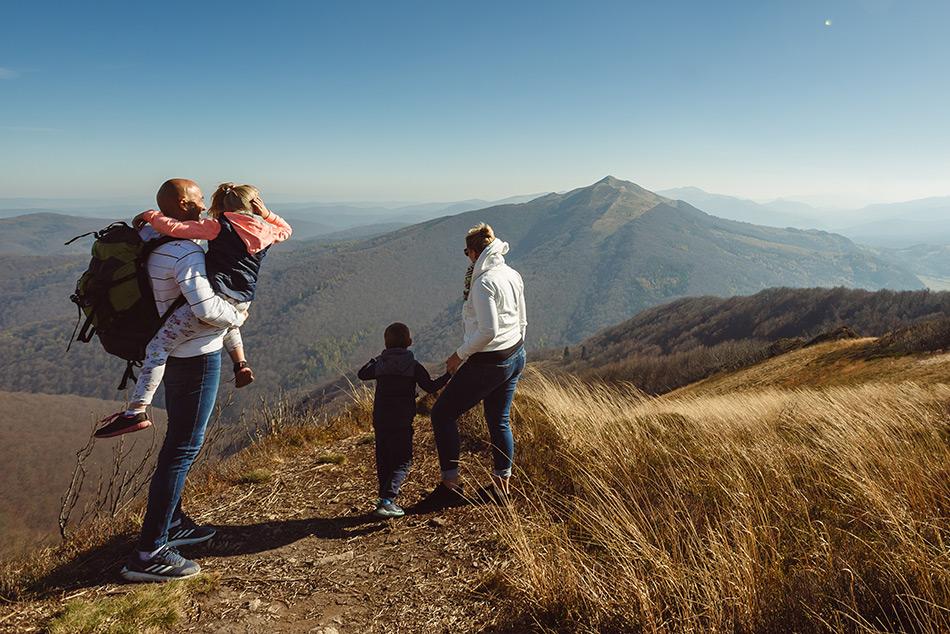 Rodzinne wycieczki w Bieszczadach. Fot. Fotoacc