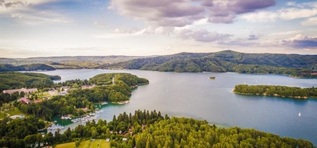 Jezioro Solińskie. Fot. Grzegorz Droba