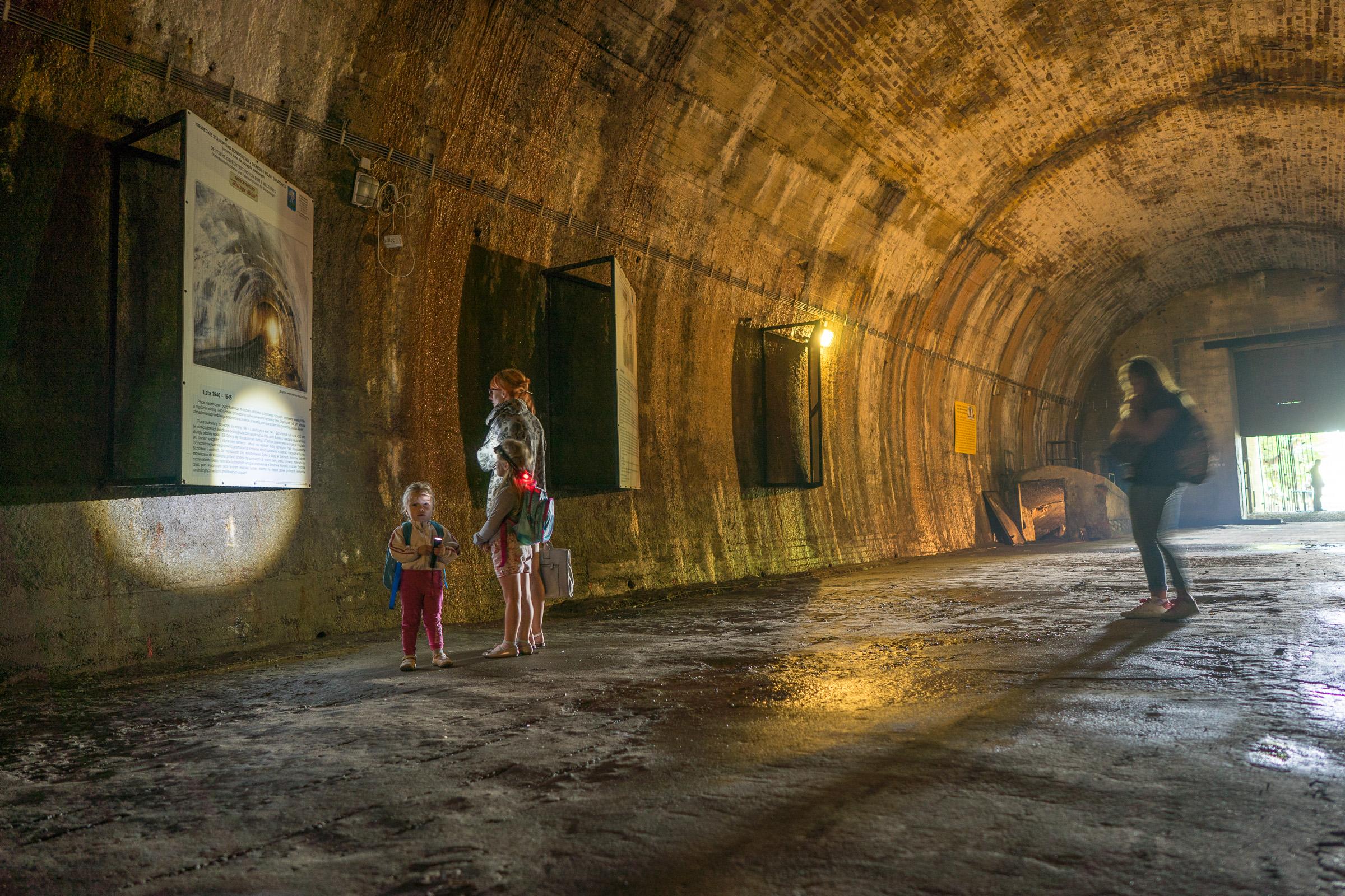 Tunel schronowy pod Gora Strzyzowska. Fot. Michal Bosek