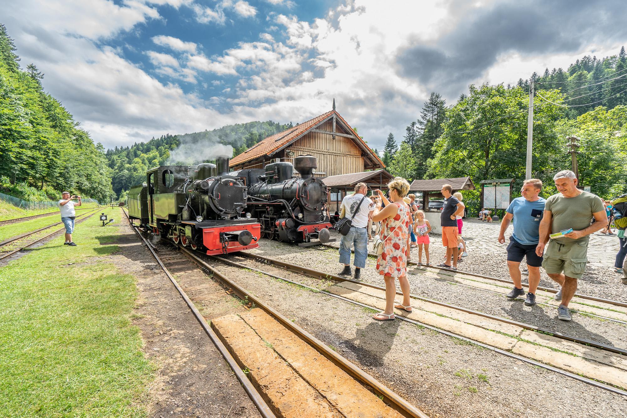 Stacja Majdan koło Cisnej. Fot. Michał Bosek