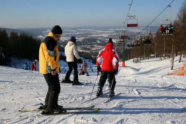 Przemyśl. Wyciag narciarski. Fot. Dariusz Hop