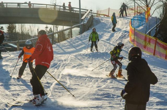 Przemyśl. Wyciag narciarski. Fot. Grzegorz Karnas