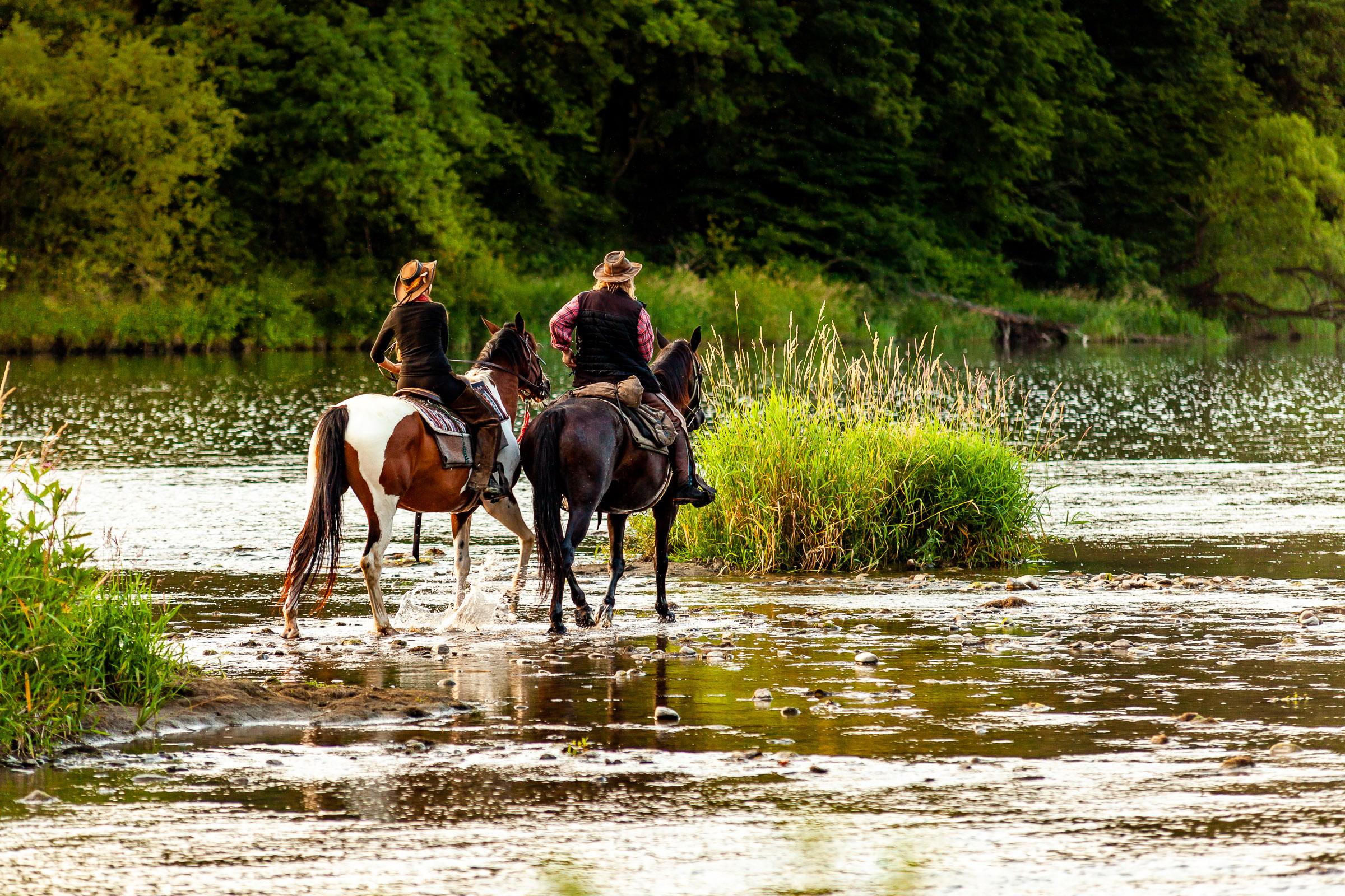 Turystyka konna w Bieszczadach