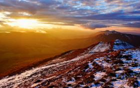 Bieszczady panorama. Fot. Łukasz Barzowski