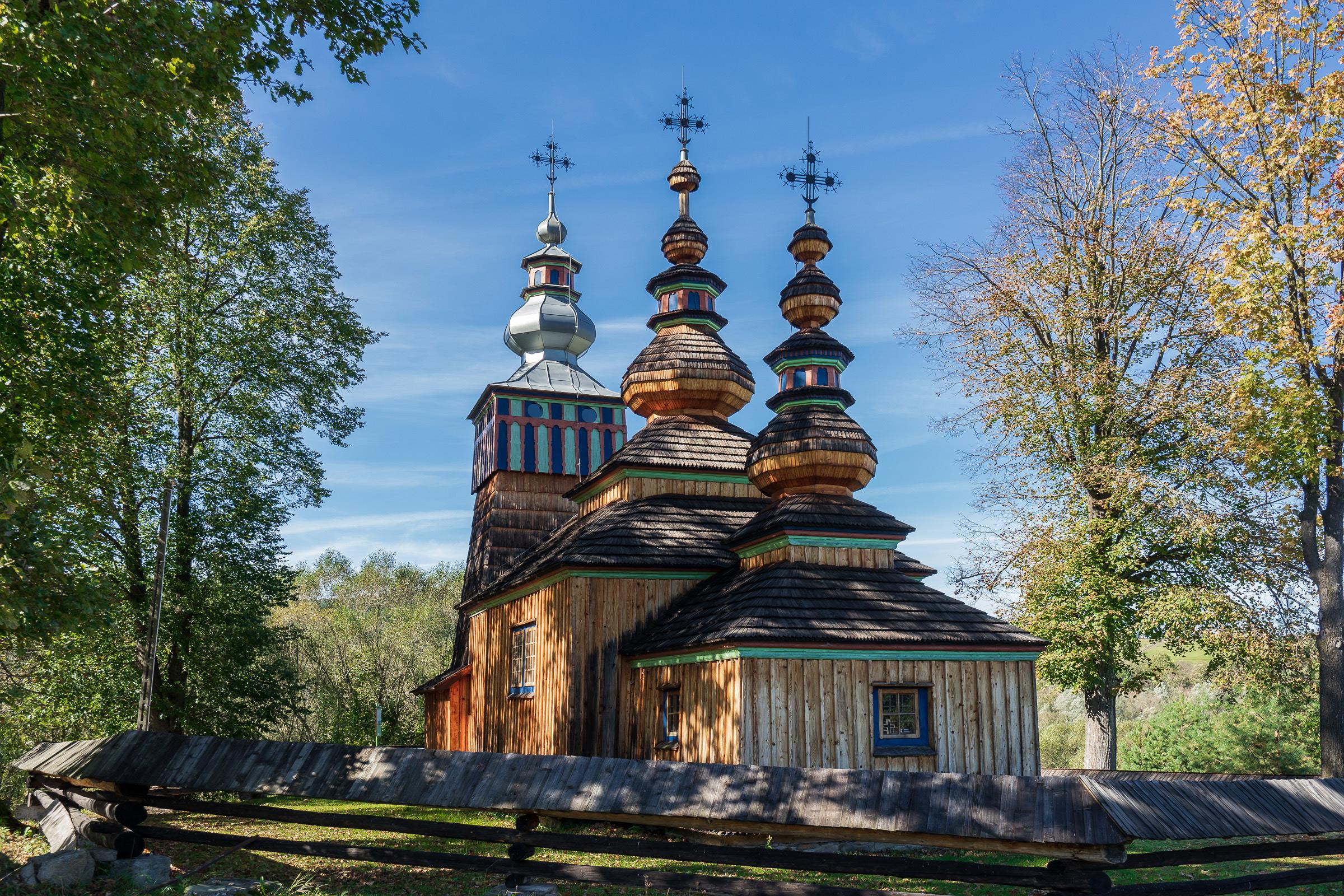 Cerkiew w Światkowej Małej w Beskidzie Niskim. fot. Krzysztof Zajączkowski