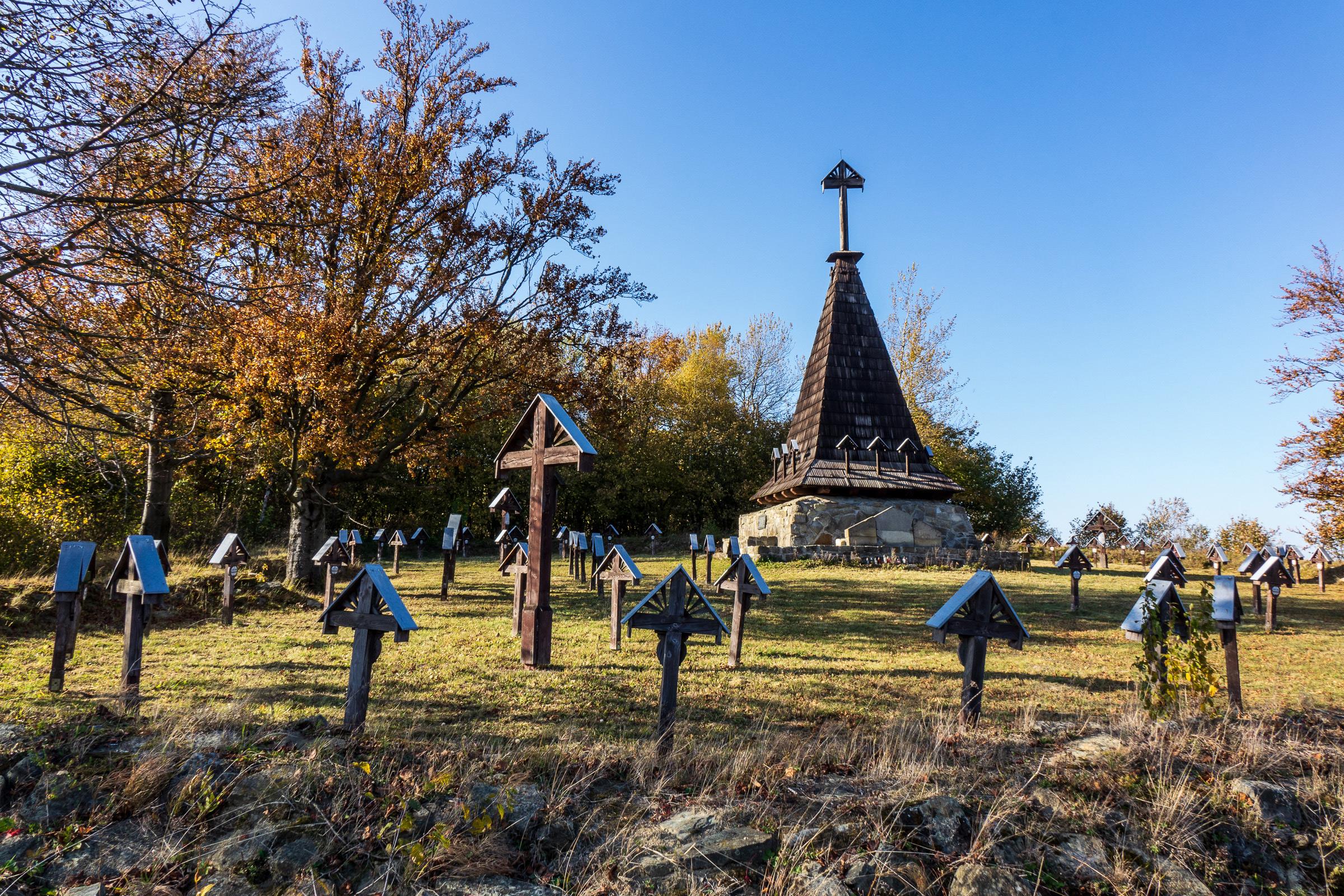 Cmentarz wojenny nr 4 z I Wojny Św. w Grabiu. fot. Krzysztof Zajączkowski